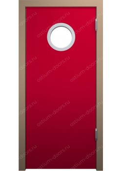 Дверь маятниковая остекленная (Balance 1)