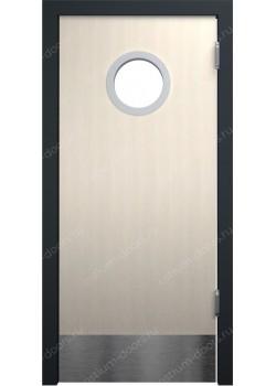 Дверь маятниковая остекленная (Balance 5)