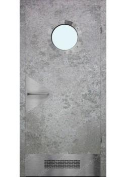 Дверь распашная остекленная (Air 9)
