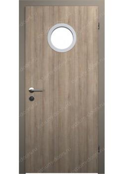 Дверь распашная остекленная усиленная (Port 1)