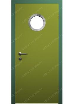 Дверь распашная остекленная усиленная (Port 2)