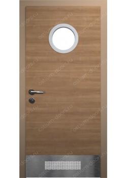 Дверь распашная остекленная (Port 5)