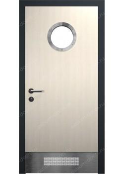 Дверь распашная остекленная (Port 6)