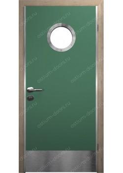Дверь распашная остекленная (Port 8)