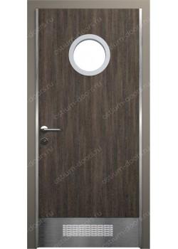 Дверь распашная остекленная (Port 9)