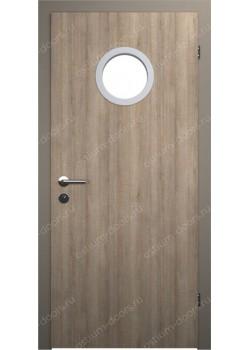 Дверь распашная остекленная (Decore 7)