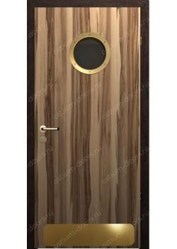 Дверь распашная остекленная дизайнерская (PortDesign 3)
