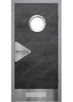 Дверь распашная остекленная (PortDesign 4)