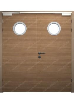 Дверь двустворчатая остекленная огнестойкая (Guard 30DUO2-2)