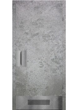 Дверь распашная глухая антивандальная (Loft 6)