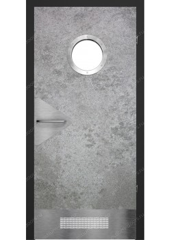 Дверь распашная остекленная (Loft 8)