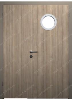 Дверь распашная остекленная полуторная (BenefitDUO1-3)