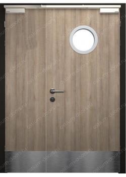 Дверь остекленная огнестойкая полуторная (Guard 30DUO1-5)