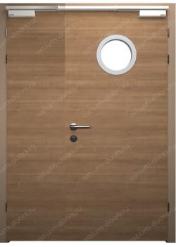 Дверь распашная глухая огнестойкая полуторная (Guard 30DUO1-2)