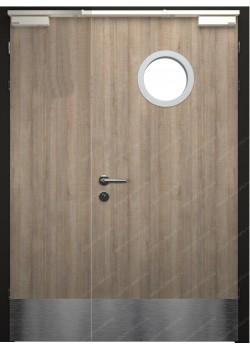 Дверь остекленная огнестойкая полуторная (Guard 60DUO1-5)