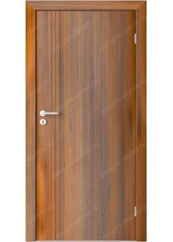 Дверь распашная глухая с фрезеровкой (Line 9)