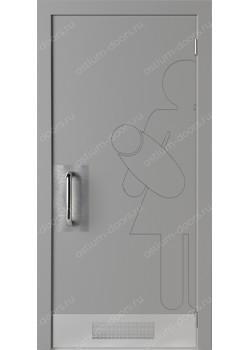 Дверь распашная глухая антивандальная (Air 18)