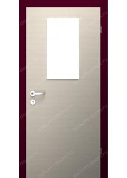 Дверь распашная остекленная (Benefit 3)