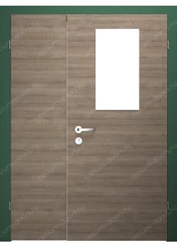 Дверь распашная остекленная полуторная (BenefitDUO1-5)