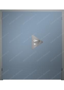 Дверь распашная глухая двустворчатая (BenefitDUO2-2)