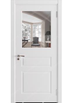 Дверь распашная остекленная (Classic 2)