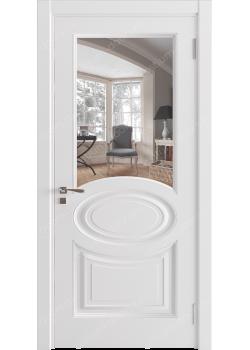 Дверь распашная остекленная (Classic 6)