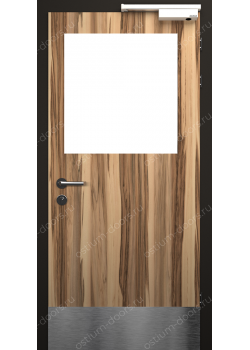 Дверь распашная остекленная огнестойкая (Guard 30 6)