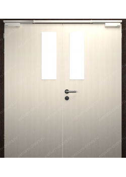 Дверь двустворчатая остекленная огнестойкая (Guard 30DUO2-3)