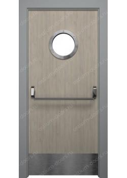 Дверь распашная остекленная (Pass 5)