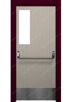 Дверь распашная остекленная (Pass 6)