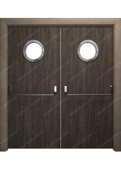 Дверь распашная остекленная (PassDUO2-2)