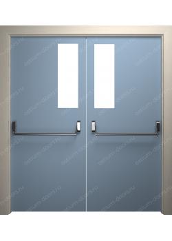 Дверь распашная остекленная (PassDUO2-3)