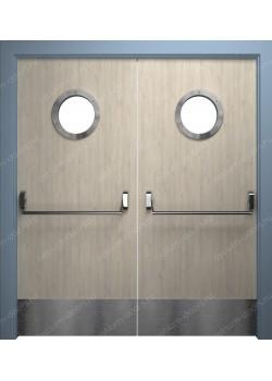 Дверь распашная остекленная (PassDUO2-5)