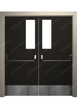 Дверь распашная остекленная (PassDUO2-6)