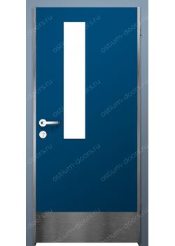 Дверь распашная остекленная (Protect 6)