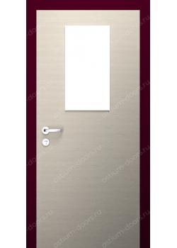 Дверь распашная остекленная (Secret 3)