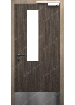 Дверь распашная остекленная огнестойкая (Secret EI30 2)
