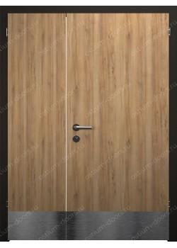 Дверь распашная глухая полуторная (Still-37 DUO1-2)