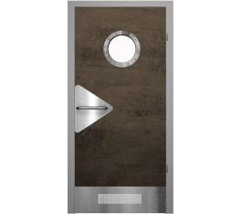 Двери с иллюминатором