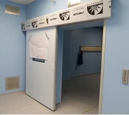 Медицинские откатные раздвижные двери
