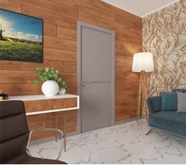 Двери в кабинет из дерева